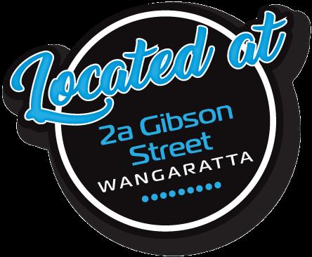 located at 2a gibson street wangaratta