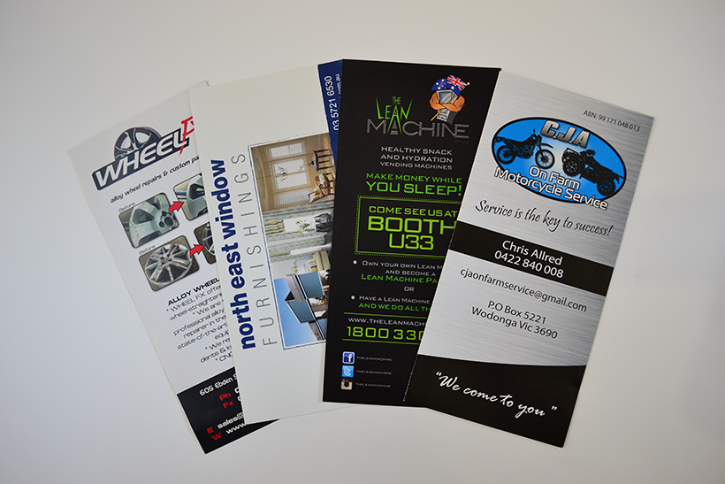 Business cards wangaratta stationery business card custom promotional flyers flyers reheart Gallery